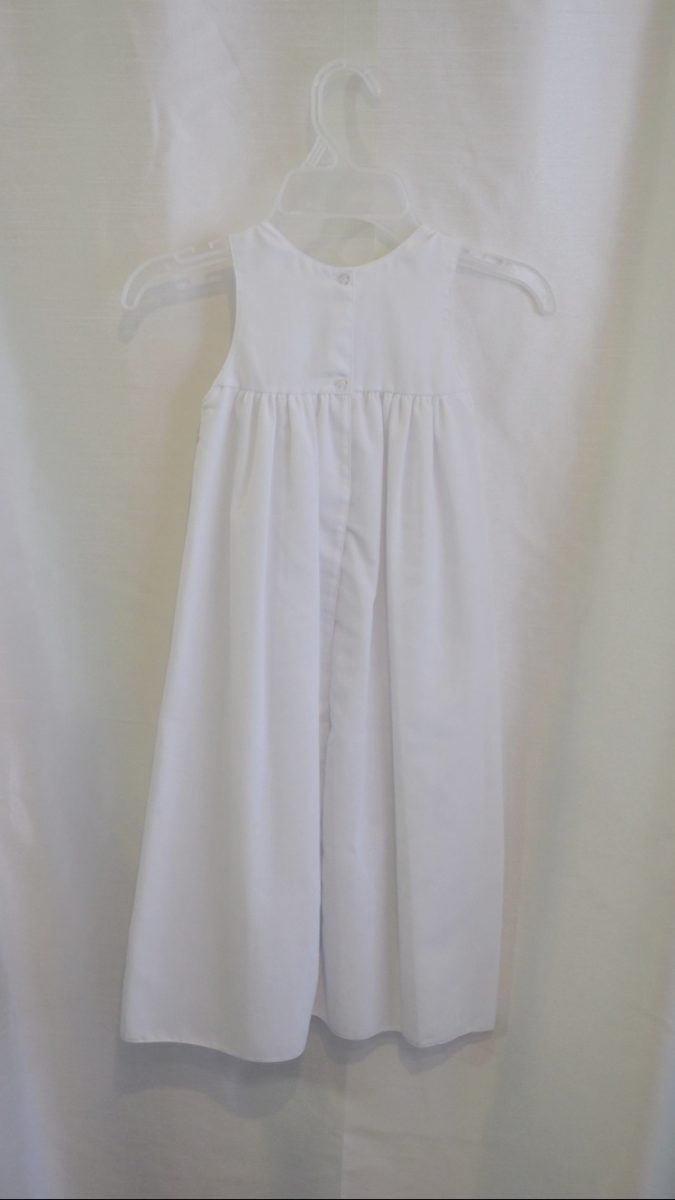 Girls Baptismal Gown Slip