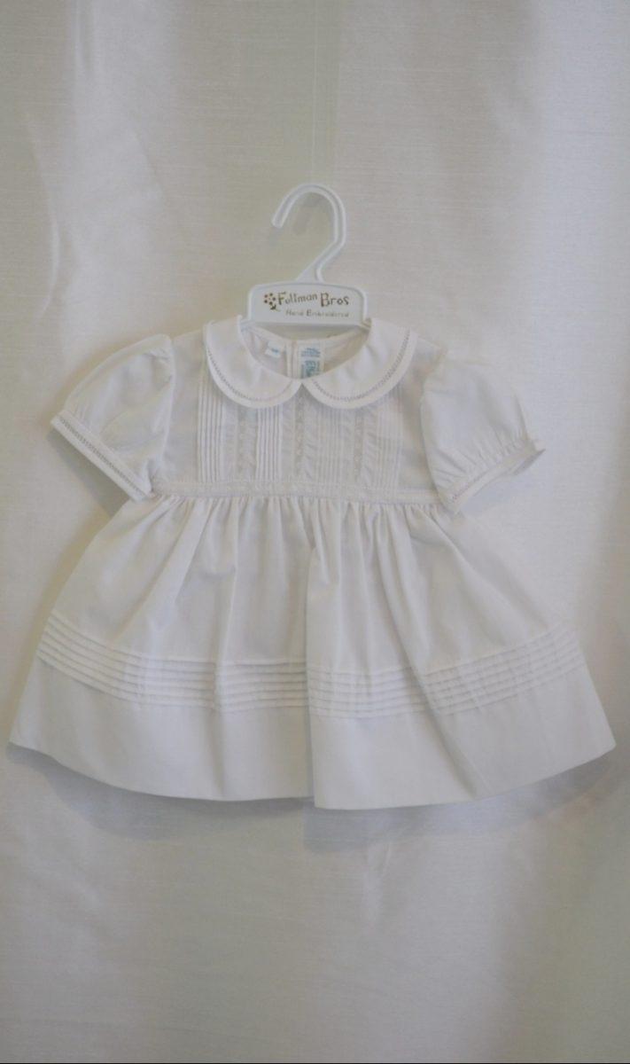 Girls NB Baptismal Dress