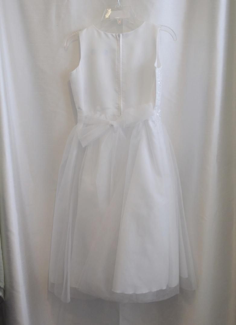 Girls Lace Communion Dress
