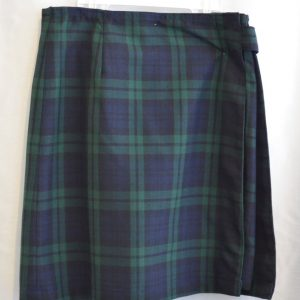 Holy Guardian Angel/ Sacred Heart Plaid Skort