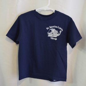 St. Ignatius Short Sleeve White or Navy Gym T-shirt