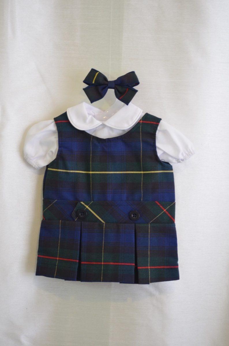 Doll Dress for LaSalle/ St Ignatius School