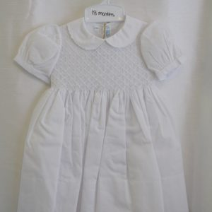 Girls 18 M. Baptismal Gown