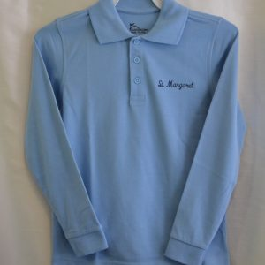 St. Margaret Long Sleeve Polo Shirt