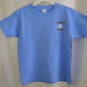 LaSalle Carolina Blue Gym T-shirt