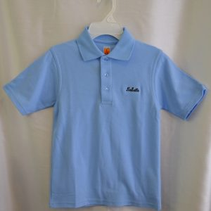 LaSalle Lt Blue Unbanded Polo Shirt