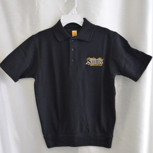 Berks Catholic Black Short Sleeve Polo
