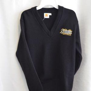 Berks Catholic Black Long Sleeve Pullover