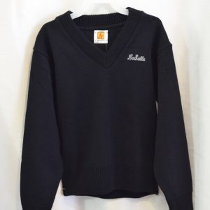 LaSalle Navy Long Sleeve Pullover Sweater