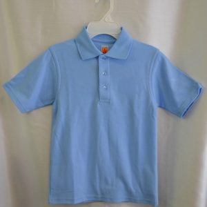 Plain Lt Blue Polo Shirt