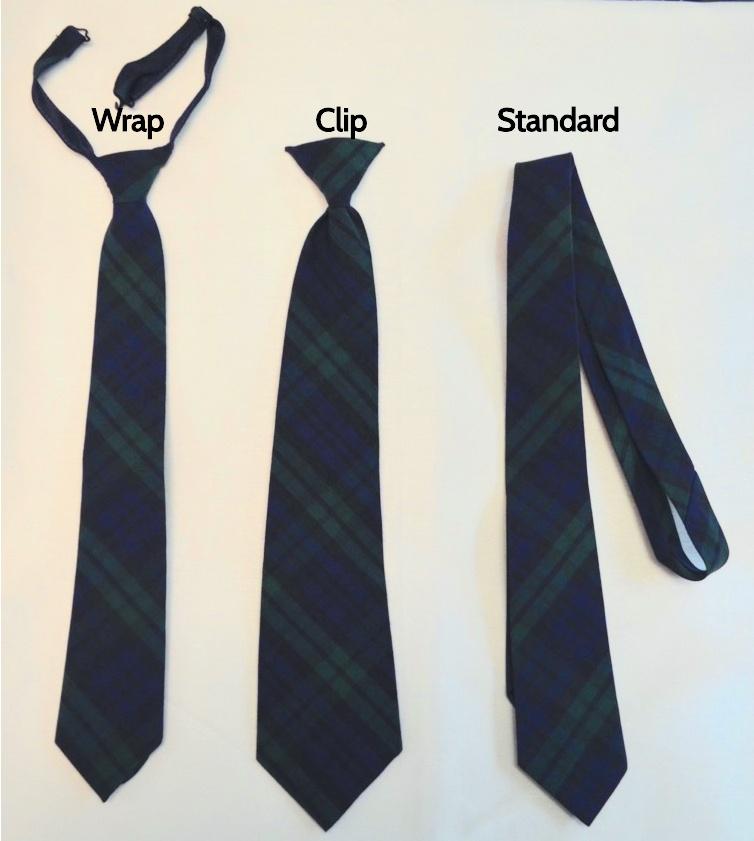 Sacred Heart Plaid Tie