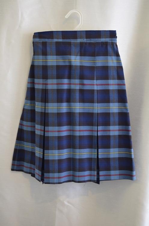 St Catharine Plaid School Skirt