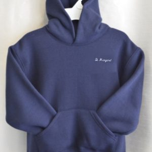 St Margaret Hooded Pullover Sweatshirt For Gym