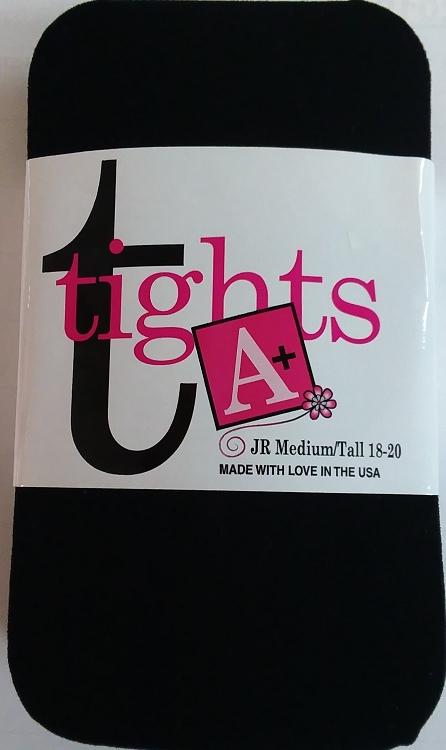Girls Black Tights