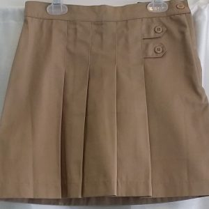 Girls John Paul II Khaki School Skort