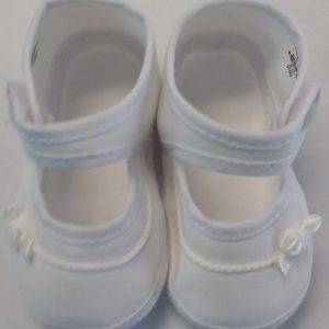 Girls White Baptism Shoe