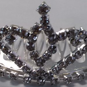 Silver Sparkle Tiara