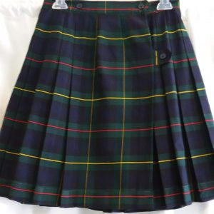 Blue, Green, Red, and Yellow Plaid Kilt