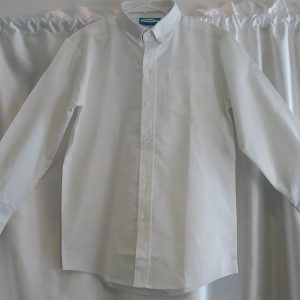 Boys Long Sleeve White Oxford