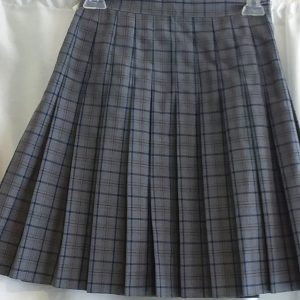 Grey, Maroon, Blue Plaid Kilt